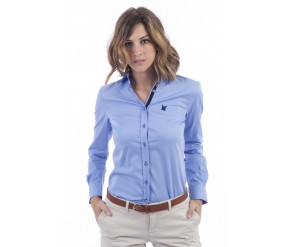 WOMAN LONG SLEEVE FITTED SHIRTS 307 POLO CLUB