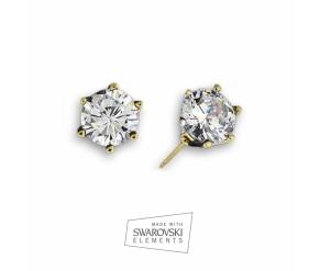 Earrings cristal dorado VipDeluxe