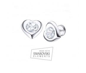 Corazón Cristal Earrings VipDeluxe