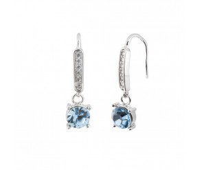 EARRING BLUE CLEO VipDeluxe