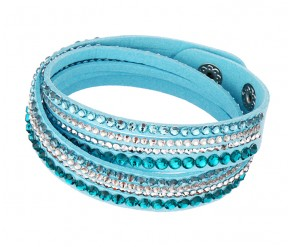 Astral Bracelet in Turquoise Blue DIAMOND STYLE