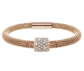 Galaxy Bracelet in Rose Gold Plating DIAMOND STYLE