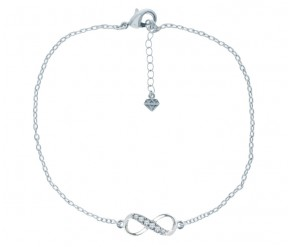 Infinity Anklet DIAMOND STYLE