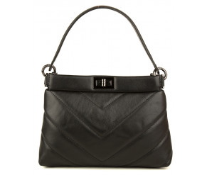 Quilted hand/shoulder bag GIULIA MONTI